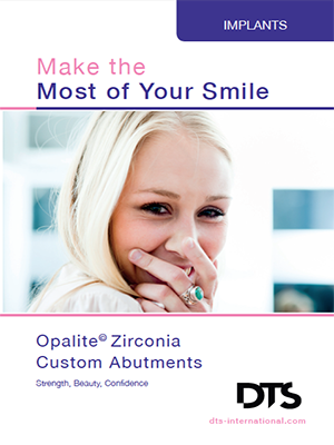 Opalite Zirconia Custom Abutments