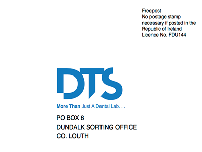 DTS Republic of Ireland Postal Label