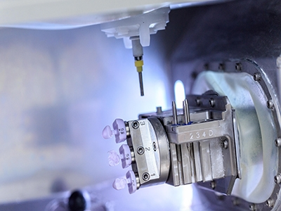 Milling with Roland DWX-4W  photo