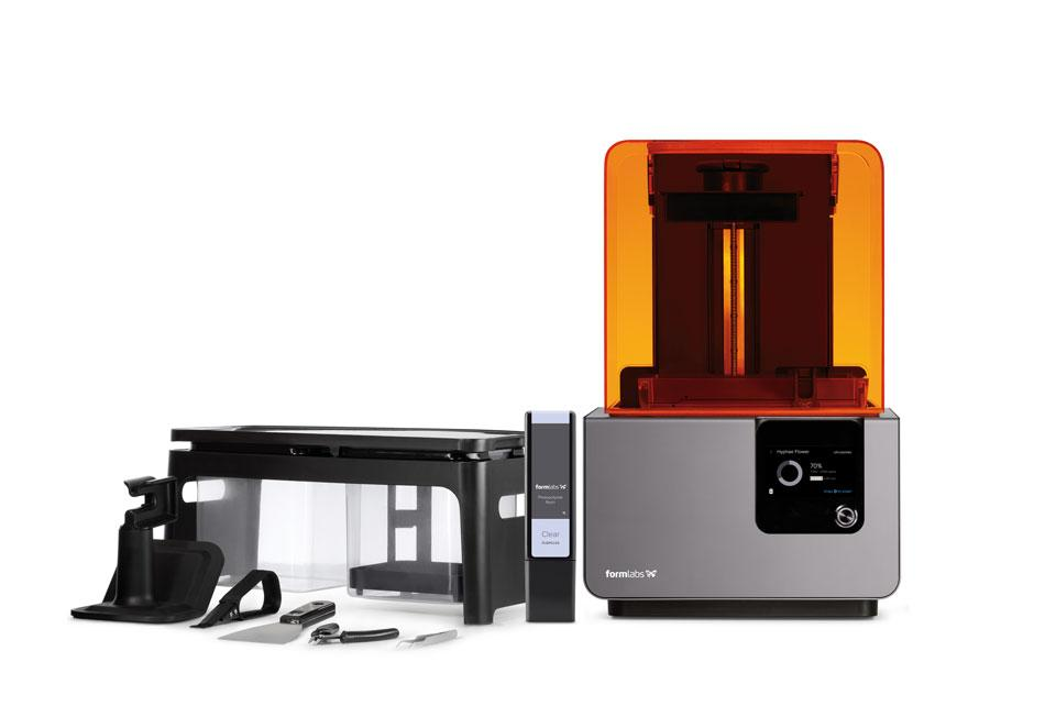 3D Printing with Formlabs Form 2  photo