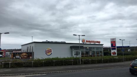 Burger King Castlebawn Retail Park Newtownards