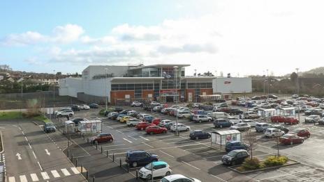 Northcott Shopping Centre Jubilee Link Glengormley