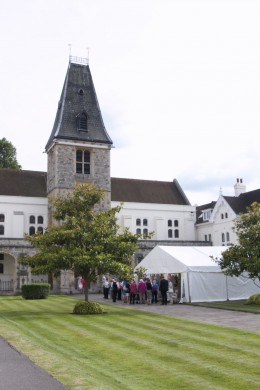 Dulwich Almshouse | Inaugural Summer Social 2018 - Marquee on the Lawn