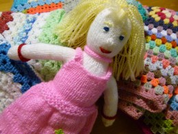 Dulwich Almshouse Charity - Knittted toy