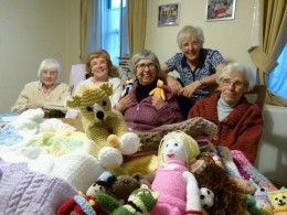 Dulwich Almshouse Charity Knitting group