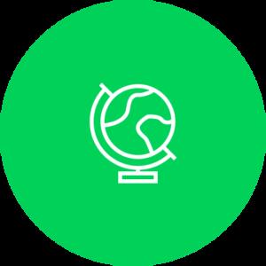 globe-groene-cirkel