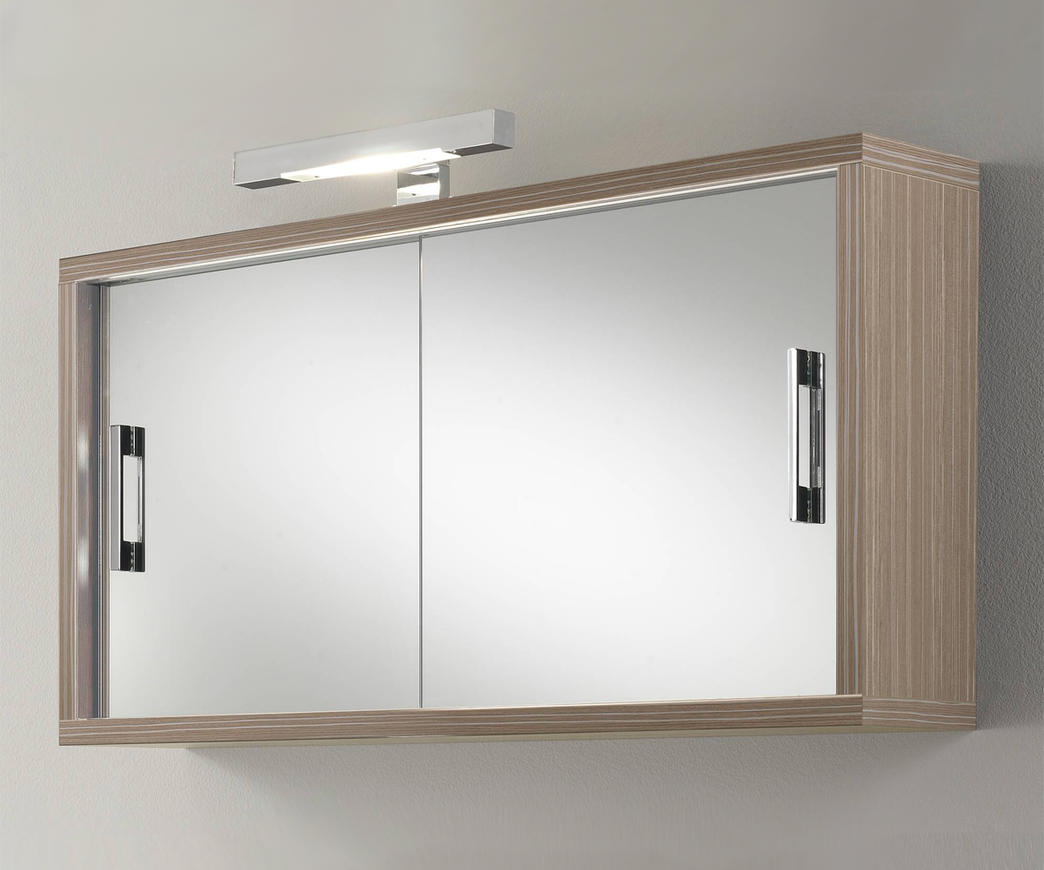 Specchiera giava wood cream duzzle - Specchio per bagno ...