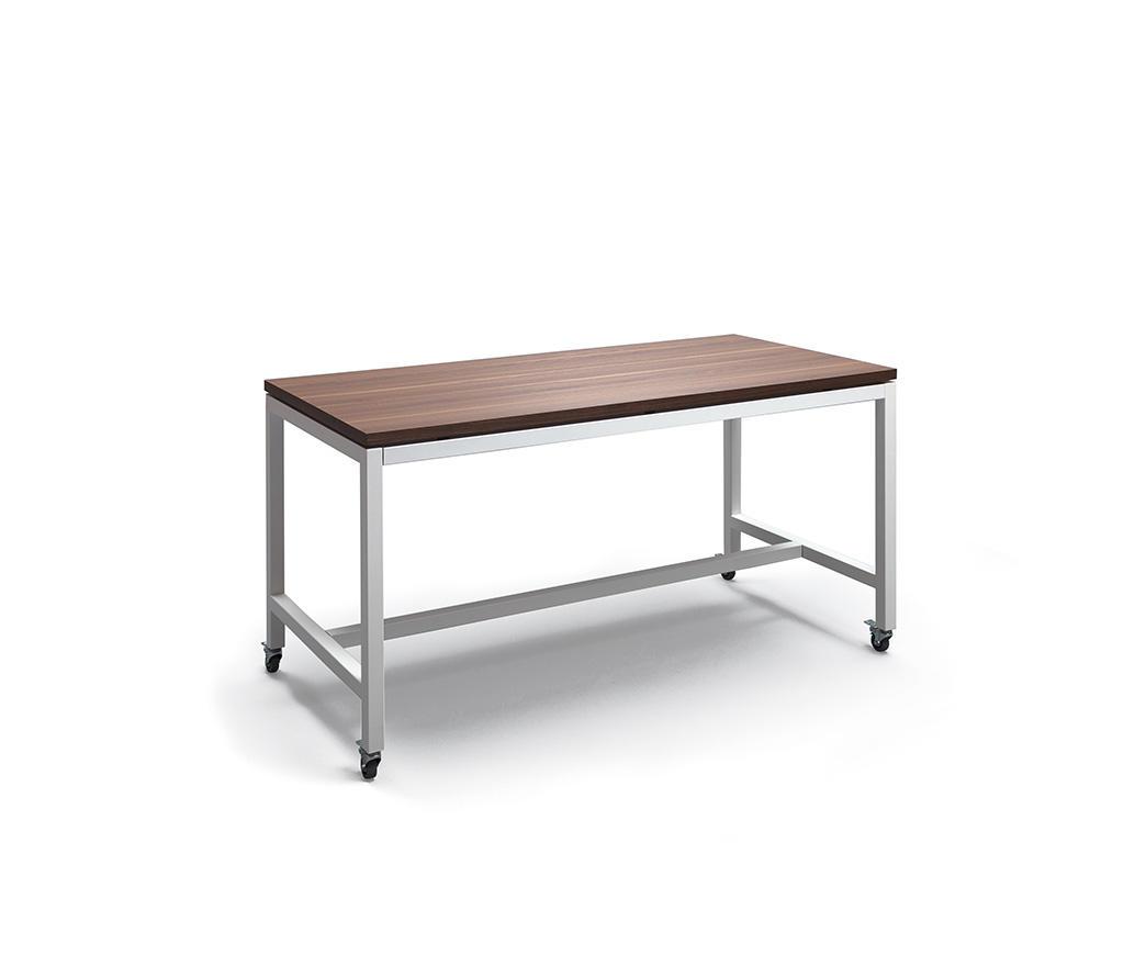 Tavolo scrivania con ruote marl duzzle - Tavolo con ruote ...