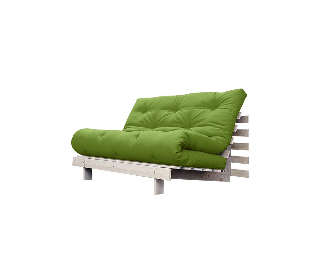 Divano letto roots 140 cm karup verde erba duzzle - Divano letto larghezza 140 cm ...