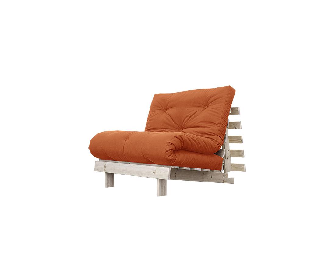 Divano letto roots 90 cm karup arancione duzzle - Divano arancione ...