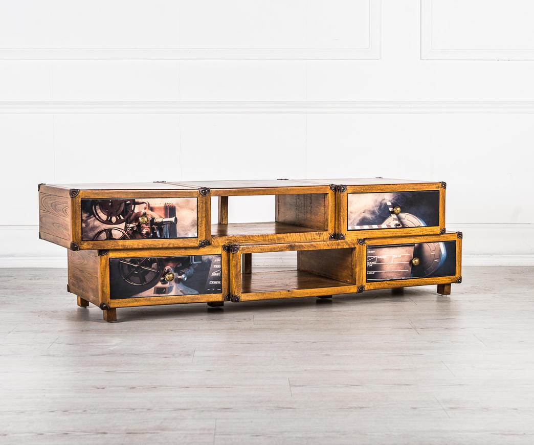Mobiletto porta TV Hollywood Style | Duzzle