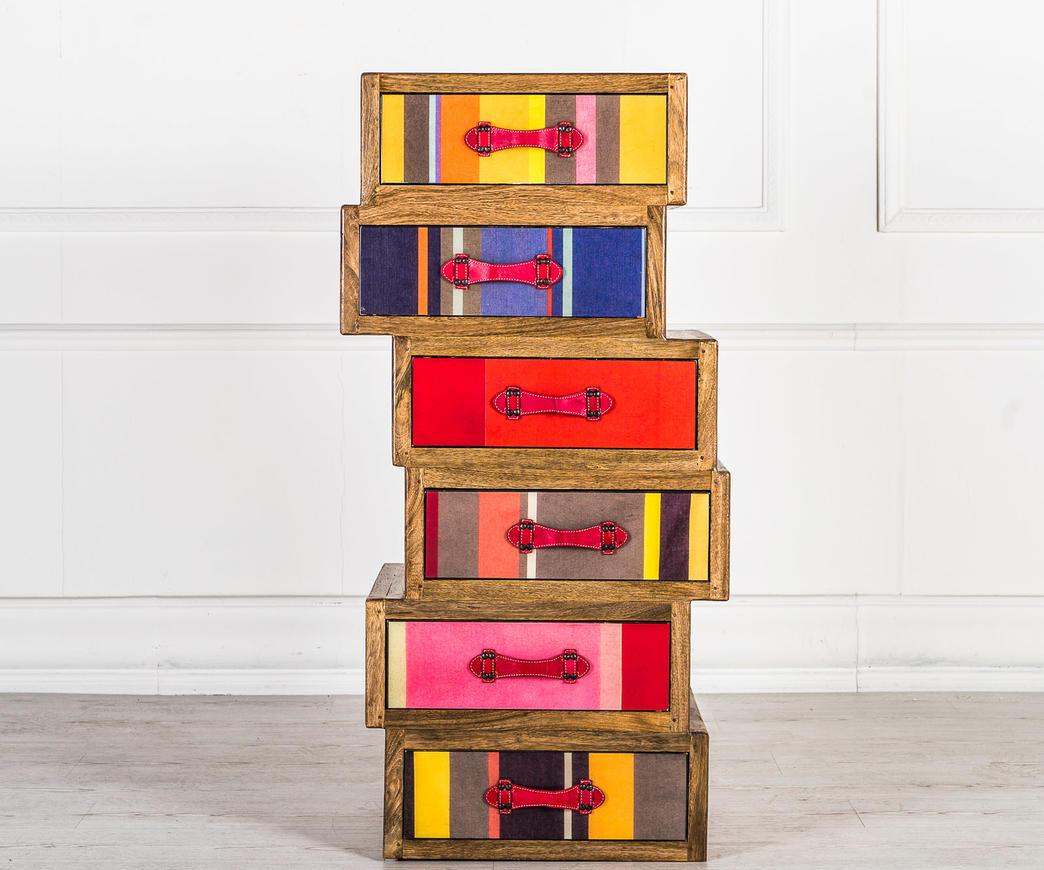 Cassettiera Ufficio Legno Massello : Cassettiera asimmetrica in legno massello ebay