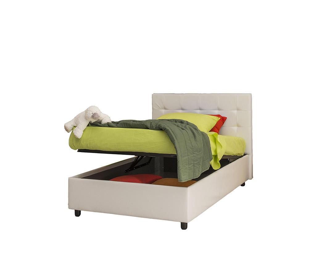 letto,piazza,e,mezza,contenitore,agnese,aperto