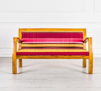 Duzzle divanetto multicolor legno massello design twist frontale.jpg