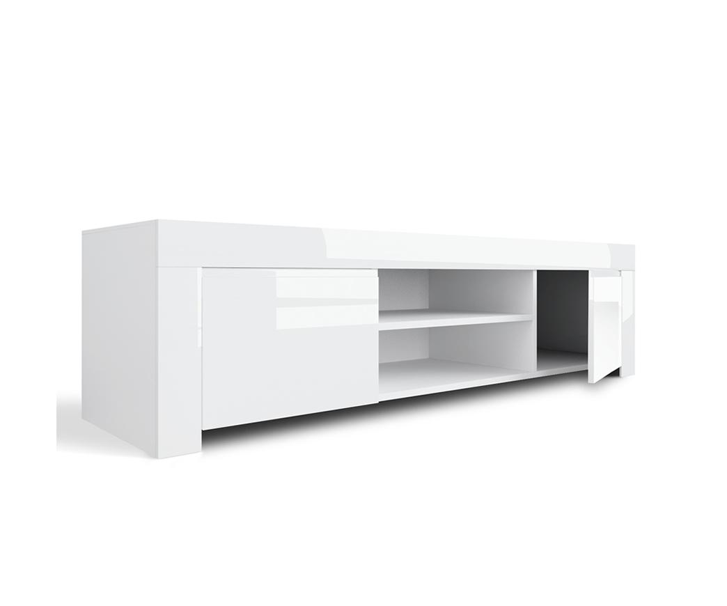 Mobile Tv Bianco Lucido.Porta Tv Adone Laccato Bianco Lucido Duzzle