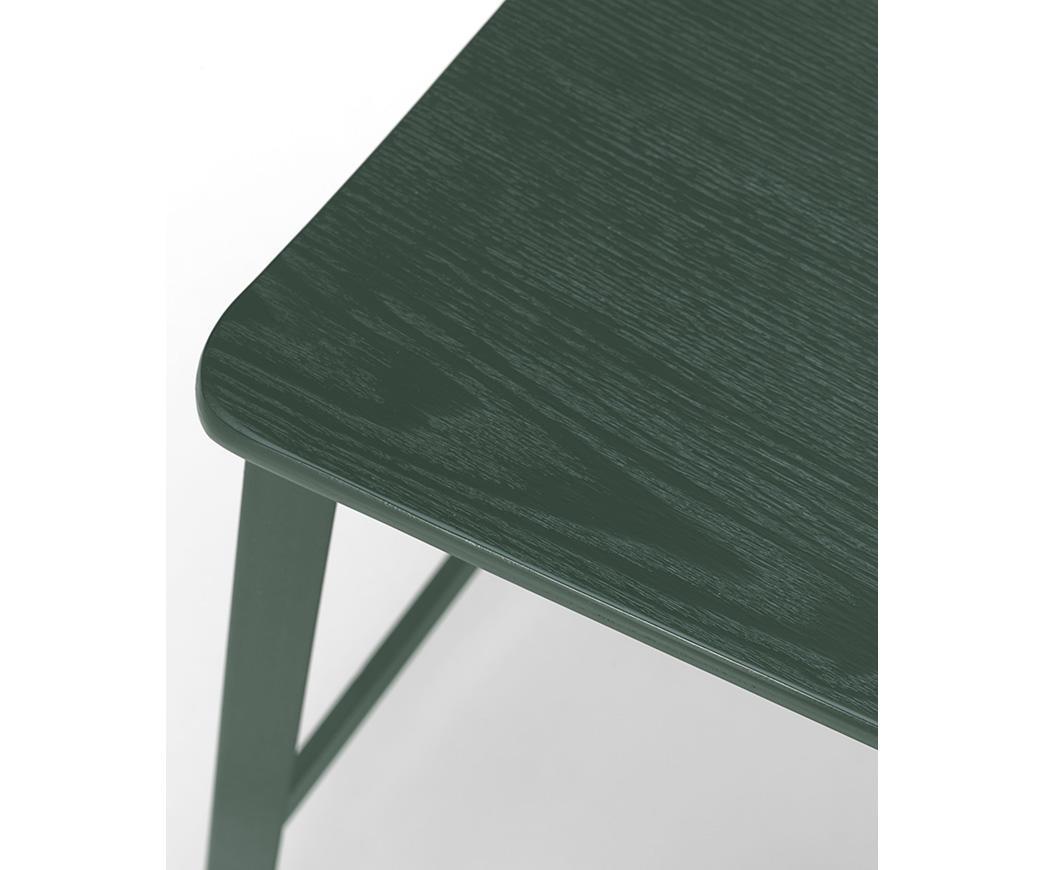 Sgabello woody verde om 338 ve di stones duzzle