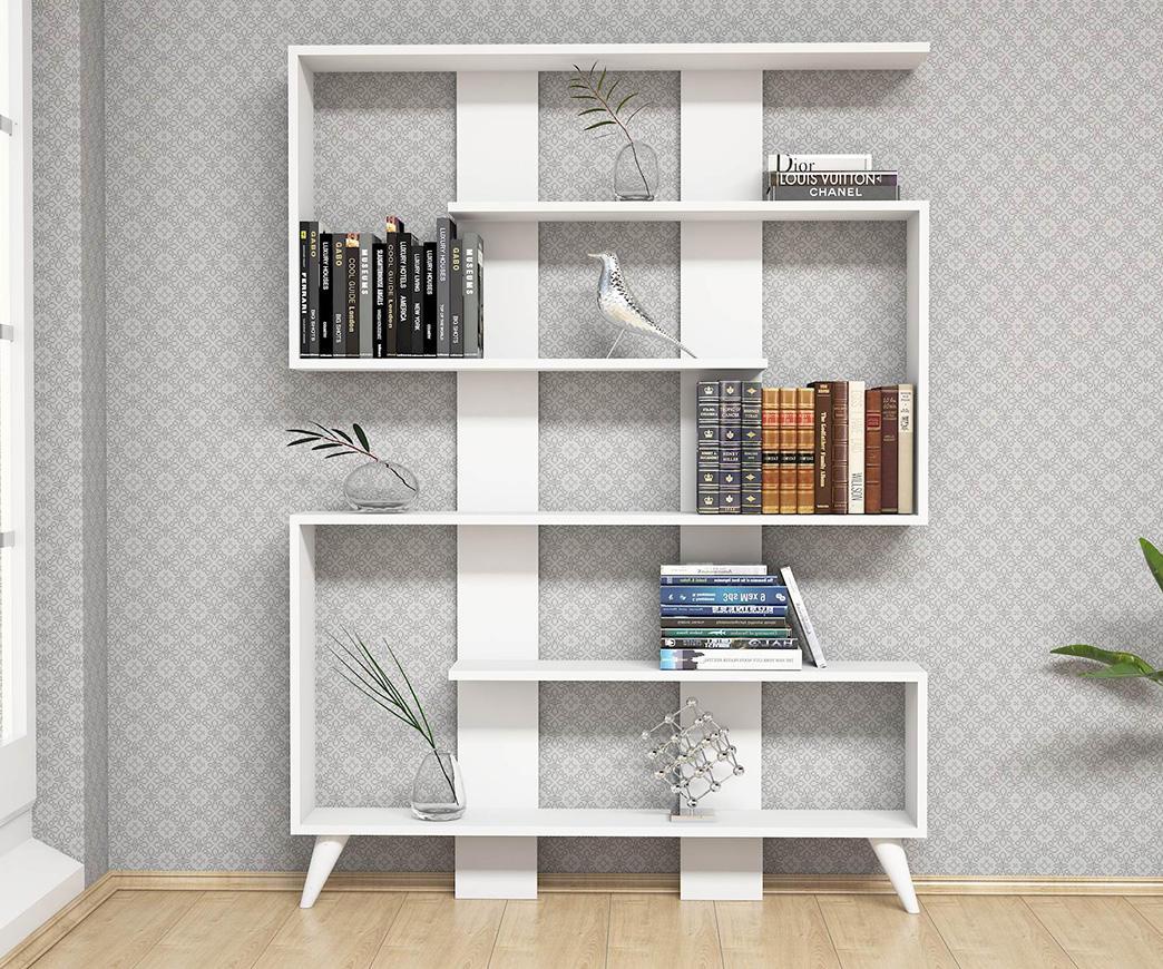 Libreria Moderna Jane Bianca