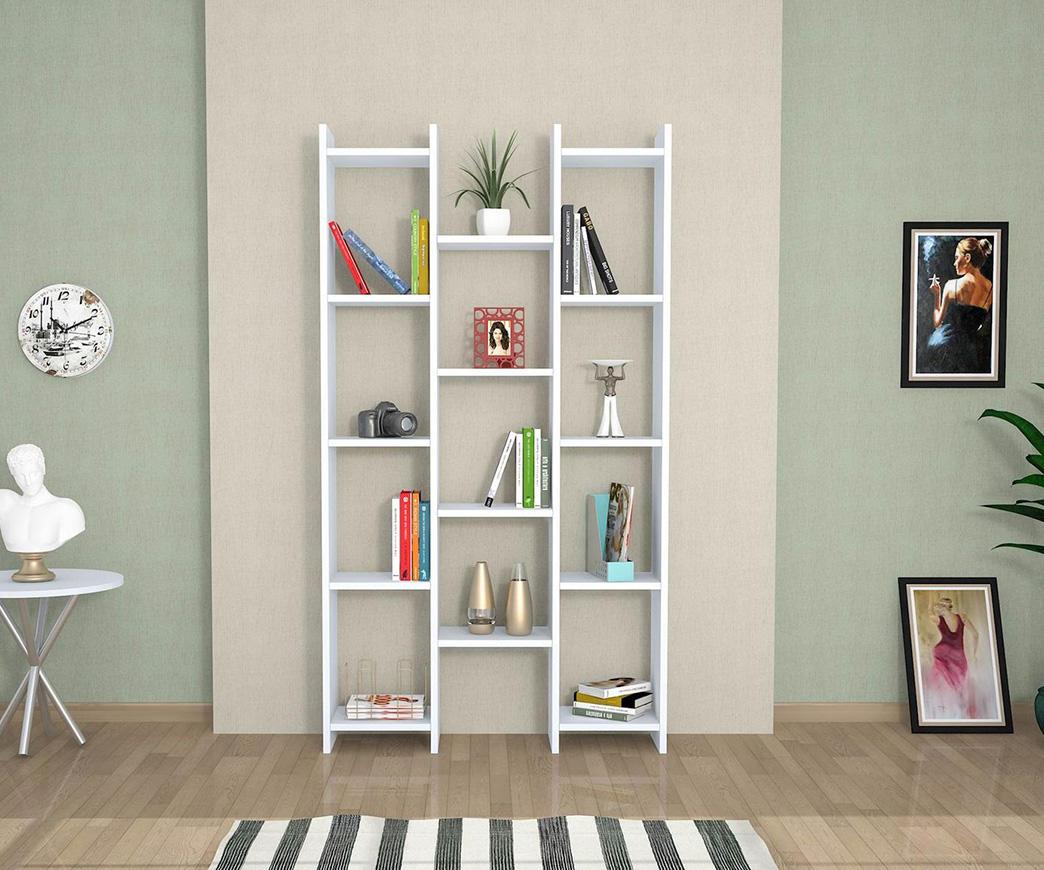 Libreria Moderna Bianca.Libreria Moderna Teo Bianca