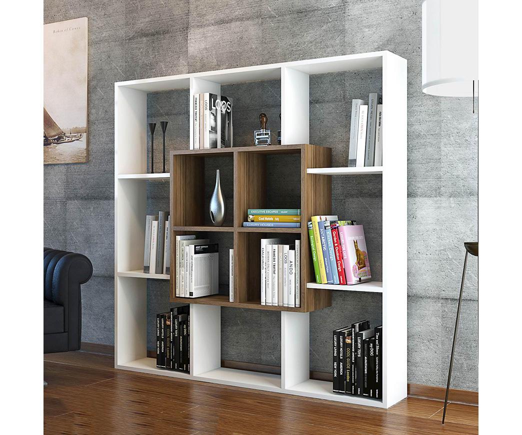 Libreria Moderna Bianca.Libreria Moderna Leef Bianca