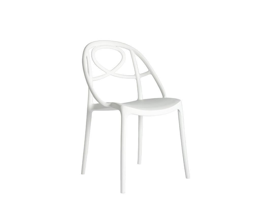 Sedie Polipropilene Design.Sedia Etoile In Polipropilene Bianca
