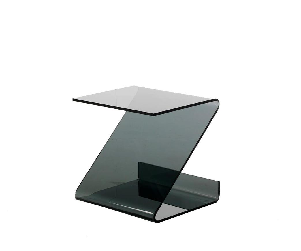 TAVOLINO IN VETRO BLACK SWAN | Duzzle