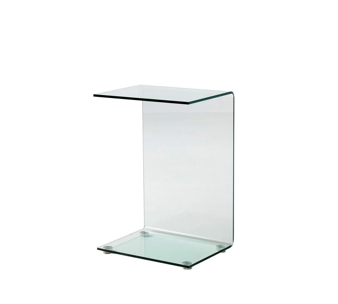Tavolino in vetro rock duzzle - Mobiletti in vetro ...