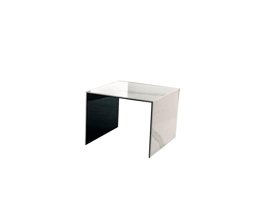 Tavolino Ponte Vetro.Tavolino In Ceramica E Vetro Arizona