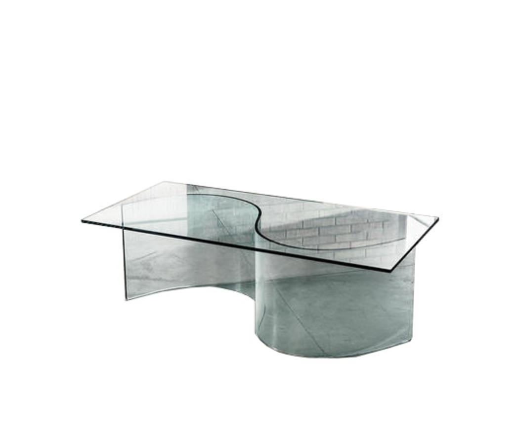 Tavoli Da Salotto In Cristallo.Tavolino Da Salotto In Vetro Incanto
