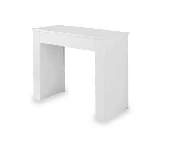 Consolle allungabile anita bianca duzzle for Consolle bianca