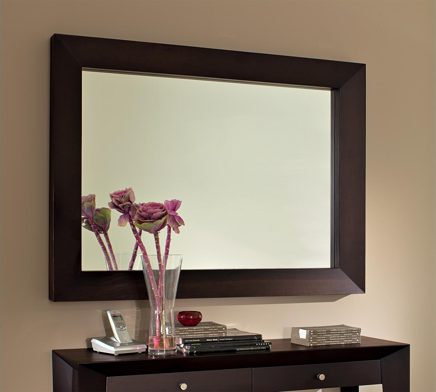 Specchio con cornice duzzle for Specchio a muro senza cornice