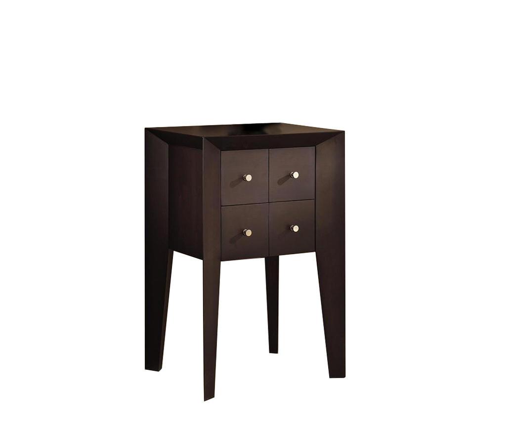 Mobiletto in legno di betulla con 4 cassetti EL/007