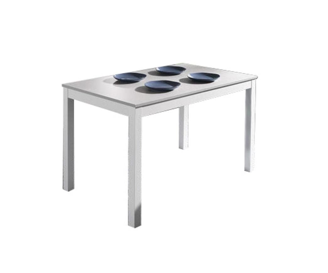 Meccanismo Tavolo Allungabile Legno.Tavolo Allungabile Target In Legno Di Faggio Grigio Bianco 130