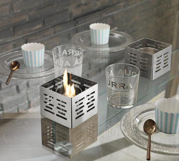 Duzzle set caminetti a bioetanolo stones da tavolo nuova collezione