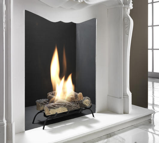 Duzzle caminetto a bioetanolo stones bianco nuova collezione2