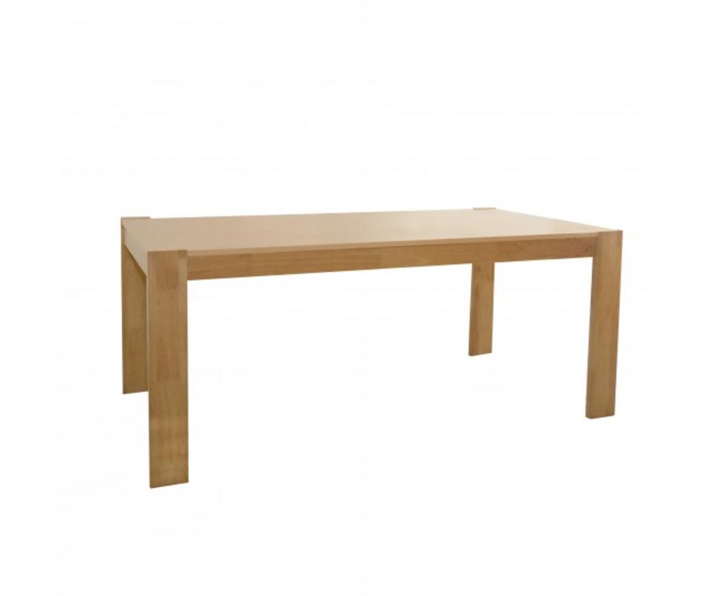 Tavolo da pranzo Mike in legno di faggio