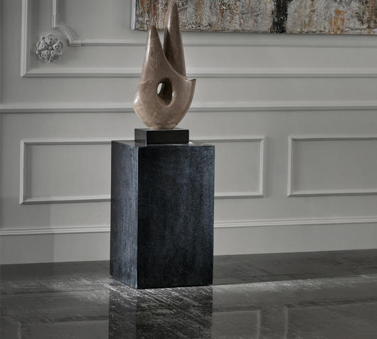 Duzzle tavolinetto stones in pietra nera