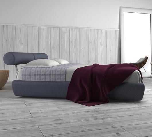 Duzzle letto matrimoniale cotone violetto design twist