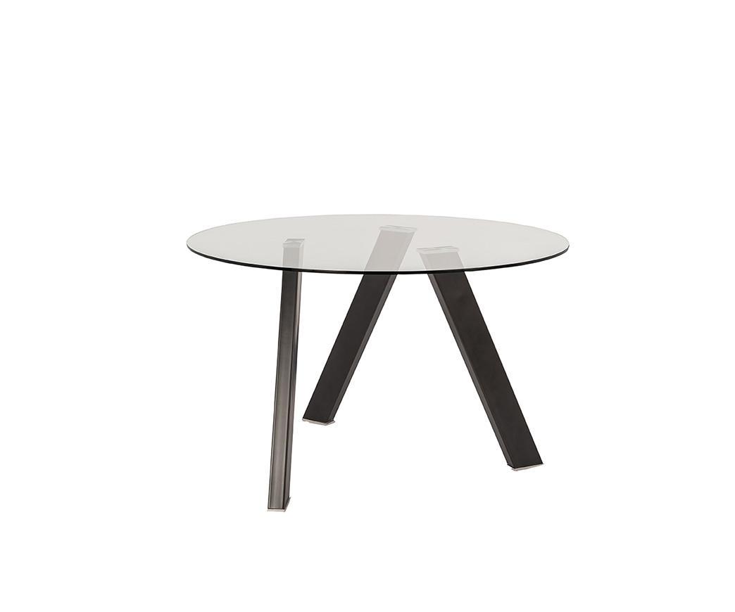 Tavolo in vetro rotondo RONDO\' di Stones OM/221/GR | Duzzle