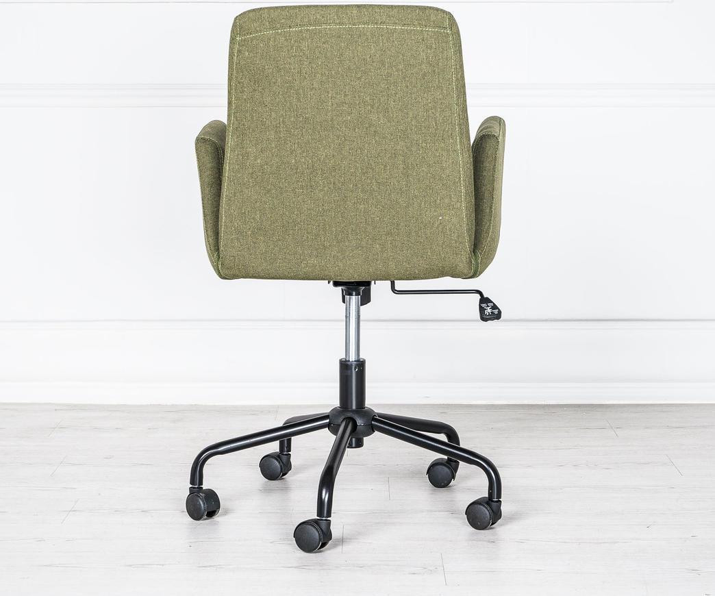Poltrona da ufficio con rotelle verde om 179 v di stones for Ufficio verde