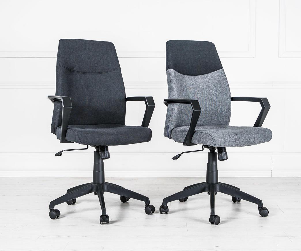 Sedie Da Ufficio Senza Rotelle : Poltrona da ufficio edwin nera con rotelle duzzle