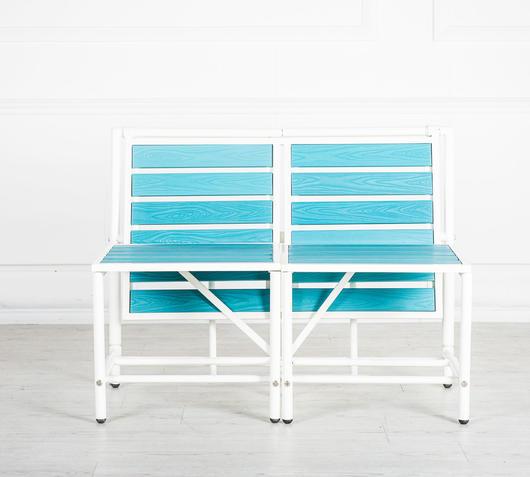 Duzzle magic bench panchina trasformabile terrazzo