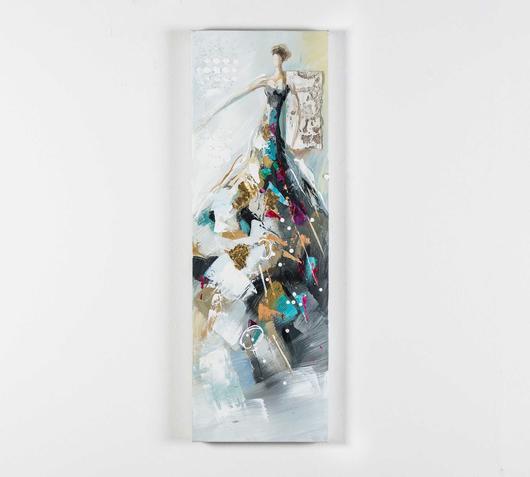 Duzzle quadro olio tela dama