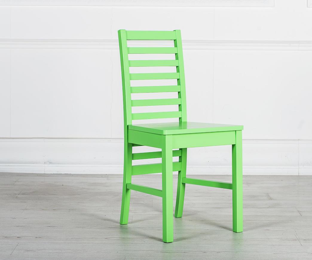 Sedia in legno angie verde om ve duzzle