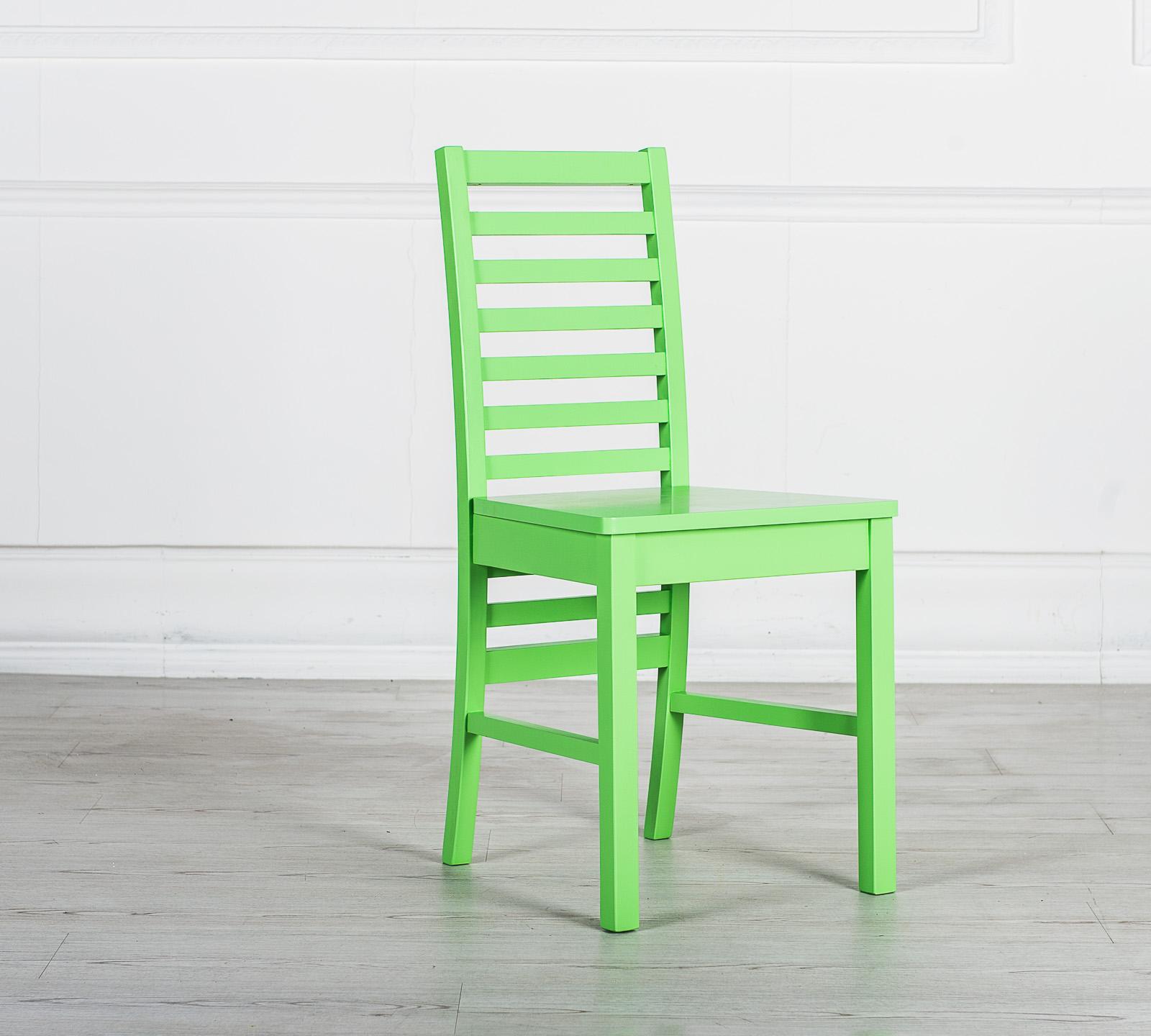 Sedia in legno Angie Verde OM/170/VE | Duzzle