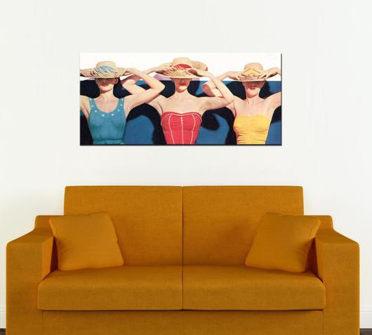 Duzzle stampa tela canvas donne al sole