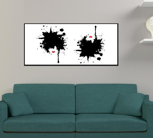 Duzzle stampa tela canvas donne pop