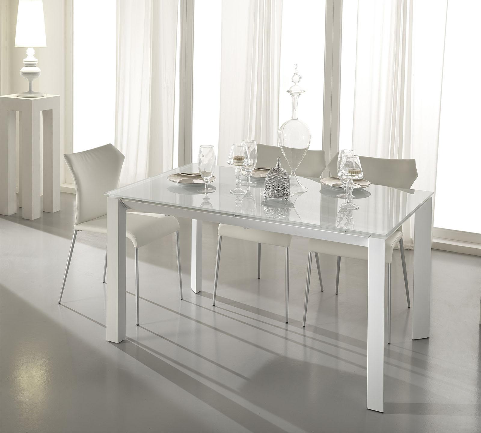 Tavolo allungabile account bianco duzzle - Tavolo rotondo bianco allungabile ...