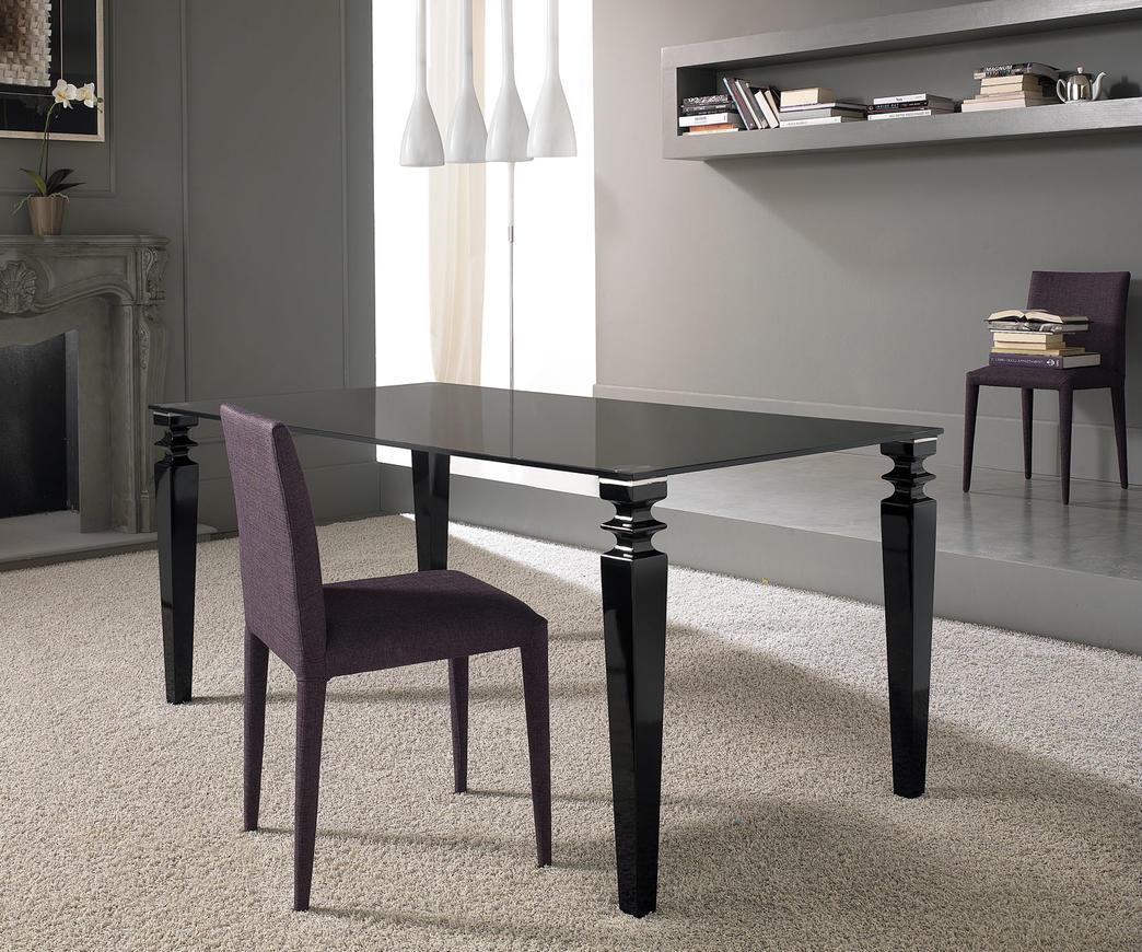 tavolo glamour nero duzzle