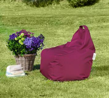 Duzzle poltrona sacco play bordeaux outdoor
