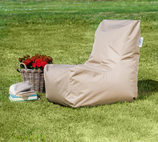 Duzzle poltrona sacco seat beige outdoor